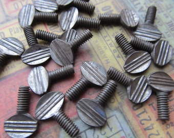 5 Vintage Key Screws