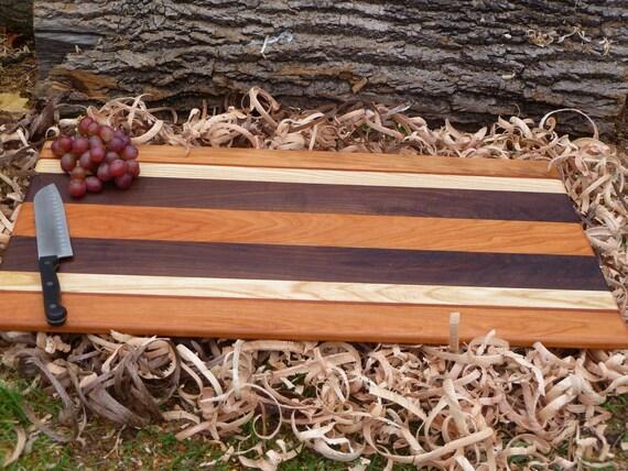 Large wood cutting board turkey carving