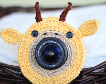 Giraffe Lens Buddy - Made to Order - Photography DSLR Lens Accessory