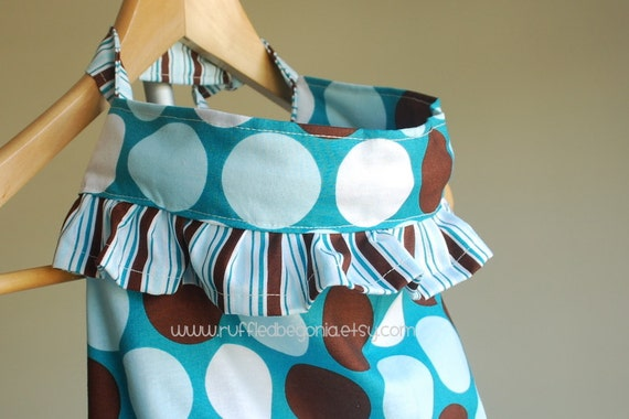 SEWING PATTERN for Designer Ruffled Breastfeeding Cover up PDF Pattern