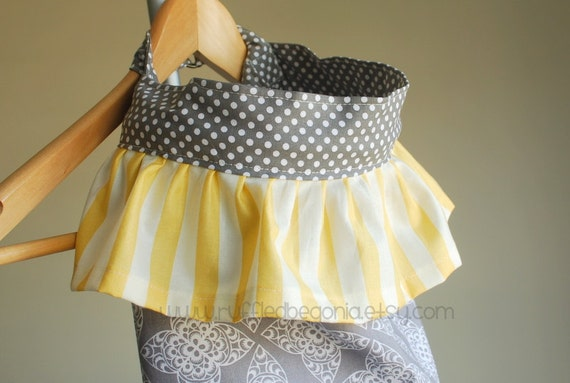 DIGITAL SEWING PATTERN for Ruffled Nursing Cover up for Breastfeeding (The Original)