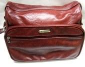 Overnight Travel Bag Samsonite Silhouette Carry On Wine Red