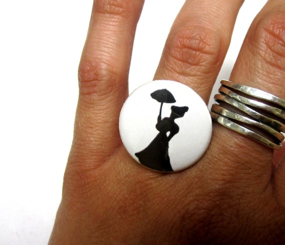 Day of the Dead Jewelry Victorian Zombie Ring