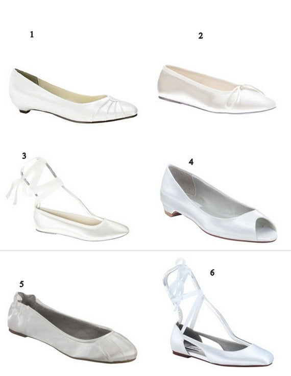 Custom Wedding Shoe Flats
