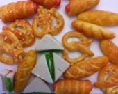 Decoden Handmade Miniature Assorted Baked Goods and Deli Set of 20pcs