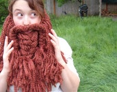epic crochet beard
