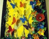Summer Color Paper Art Assemblage