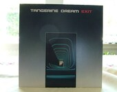 Tangerine Dream Exit LP vinyl record album Elektra  1981 German Electronic Psych Sound Krautrock