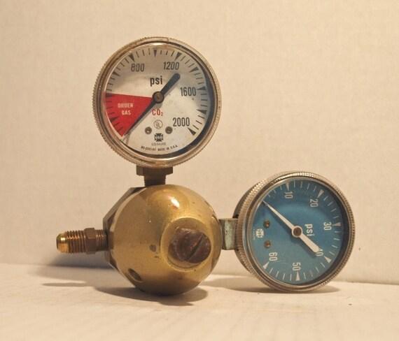 Pressure Gauge Industrial Supplies Plastic Metal Part Object Meter Reading Steampunk Construction