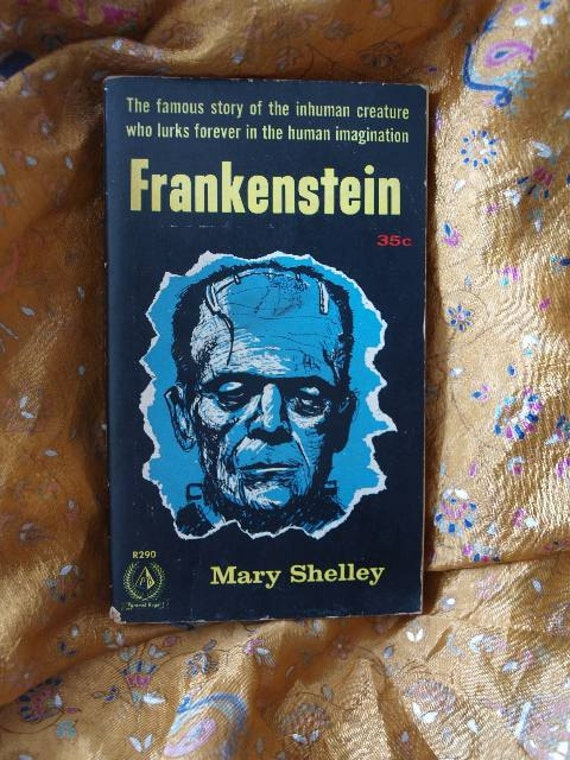 Frankenstein / Pyramid Royal Paperback R290 / Mary Shelley / 1950's / Horror / 1st Pyramid Royal