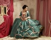 Madam Pompadour 18th century costume interpretation