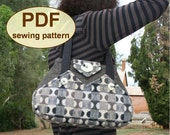 Sewing pattern to make the Exchange Bag - PDF pattern INSTANT DOWNLOAD