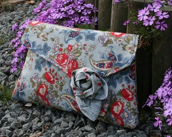 Sewing pattern to make the Dorothy Clutch Bag - PDF pattern INSTANT DOWNLOAD