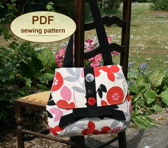 Land Army Bag PDF sewing pattern INSTANT DOWNLOAD