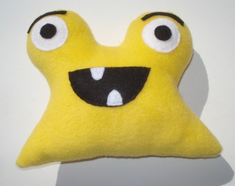 Monster Dog Toy - Jimmy The Jolly Monster - Yellow