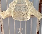 Seamless Summer Crochet pattern instant download Summer Light Weight Sweater Women Teens Bolero Shrug XS-XXL