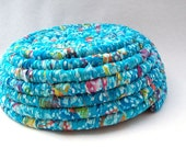 Ocean Jewel-Fabric Coiled Basket-Spring Sale