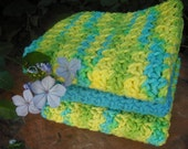 Crocheted Dish cloths -set of 3