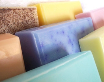 Soap Bundle - 4 Soaps - 5.3 oz ea