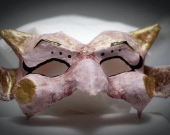 Venetian-style girl goblin mask