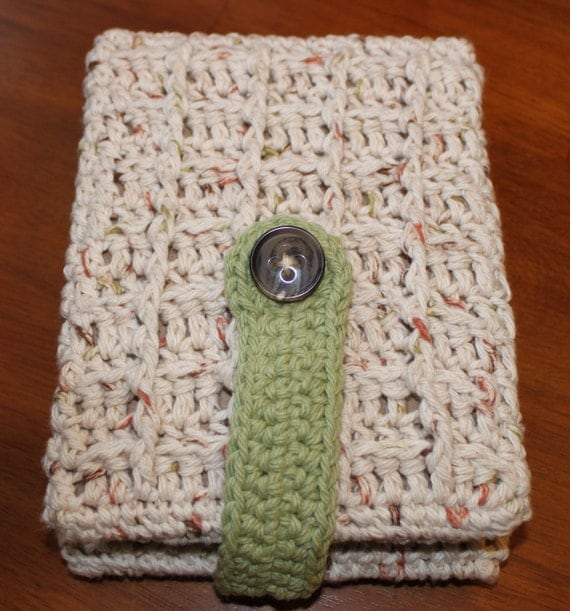 Kindle/Nook/eReader Flip Cover Crochet Pattern