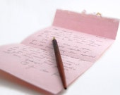 Pink Card & Envelope All-in-One.