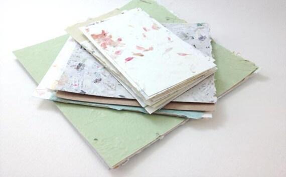 Handmade Paper Samples - Square