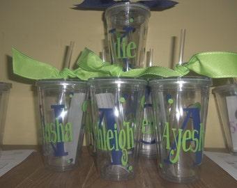 Personalized Tumblers, Teacher Appreciation, Bridesmaids, teacher gifts, teams
