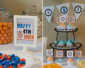 DIY Printable ROBOT Party: Full Collection
