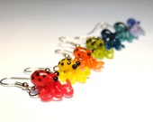 Tiny Glass Octopus Earrings - Mix n' Match