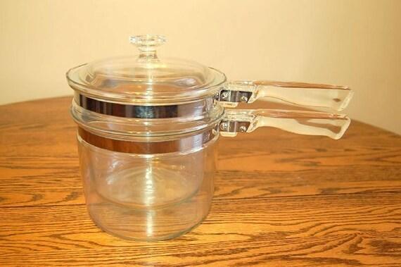 Vintage Pyrex Flameware Double Boiler