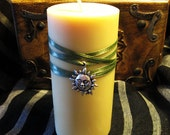 Soy Wax Yellow Mango Scented Summer Candle