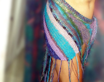 Olas y Ondas SARONG / Pareo - Hand-knit swimsuit cover-up - Size Small to XL