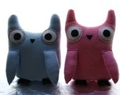 Personal Listing - Pick 2. Made to Order. Free Shipping in the US. (Tree House Owl Collection)