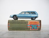 Vintage Matchbox Car 12 Citroen CX Man Toy