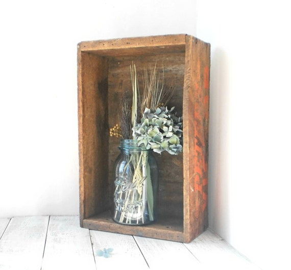 Black Friday Cyber Monday Holiday Decor Autumn Home Decor Vintage Wooden Box Under 50