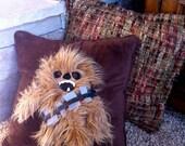 chewbacca decorative throw pillow