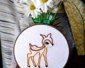 Embroidered Woodland Friend - Fawn