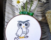 Embroidered Woodland Friend - Owlet