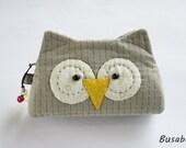 Handmade Owl Purse / Coin Purse Owl - Ready to Ship