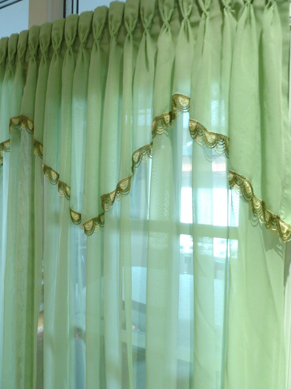 mint green kitchen curtains items similar to vintage window curtain porti 232 re doorway 7525