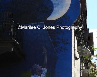 Moon Mural Fine Art Photo: Multiple Sizes Available