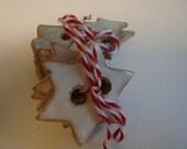 Four stars for Christmas or Hannukka