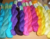 13 colors 3Ply triple strand Persian Wool Needlepoint Tapestry Yarn 520 yards Variety Pack new vintage stock crewel embroidery Last Lot