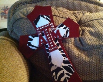 Texas A&M Wood Cross, Aggie Theme Wood Cross