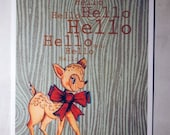 Hello Deer-Hello Dear Postcard