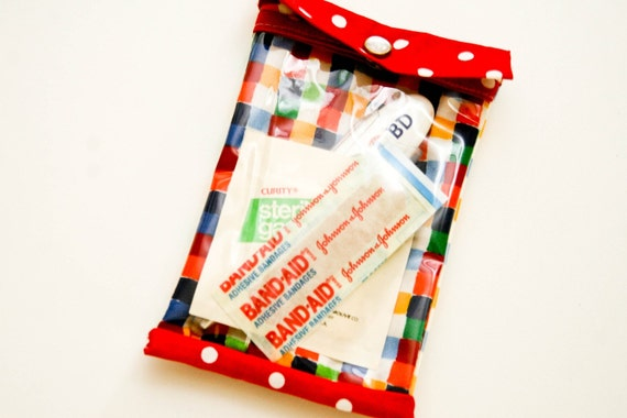 50% OFF SALE----Small Oopsie Daisy Bag First Aid Kit
