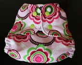 One Size Pocket Diaper/ AIO Pocket Diaper/ Newborn to 35 lbs.