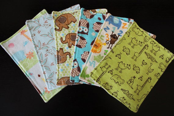 Two Sided Baby Wipes/ No Fray/ Ultra Soft Flannel Cloth Wipes