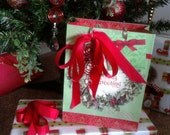 Handmade Christmas-Birthday-Holiday Gift Tag Holders-Favors-Ornaments-Wedding Favors